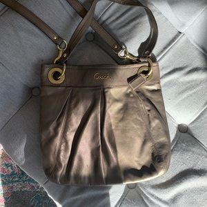 Authentic Coach Ashley Hippie crossbody